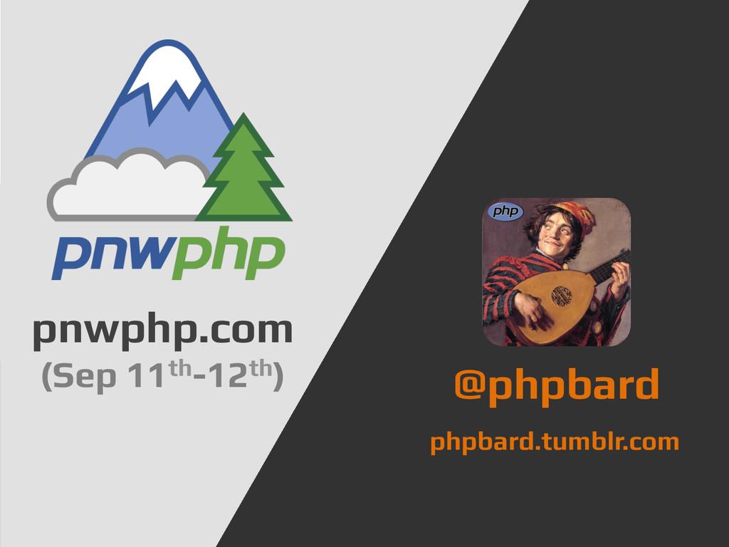 Hi, I'm Jeremy.! @jeremeamia! Seattle PHP User ...