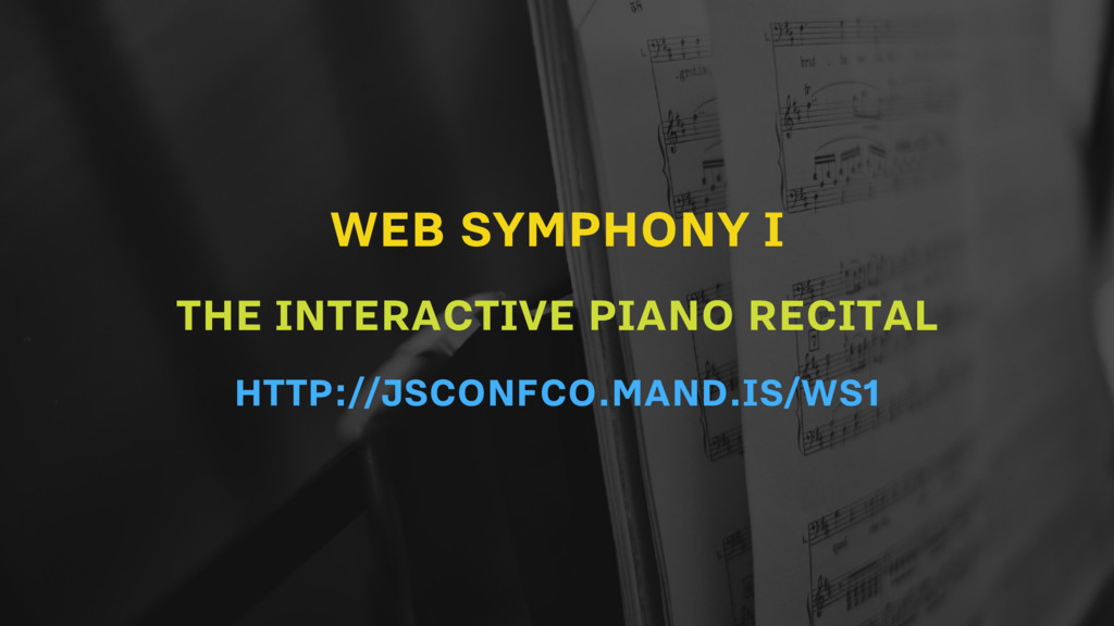 WEB SYMPHONY I THE INTERACTIVE PIANO RECITAL HT...