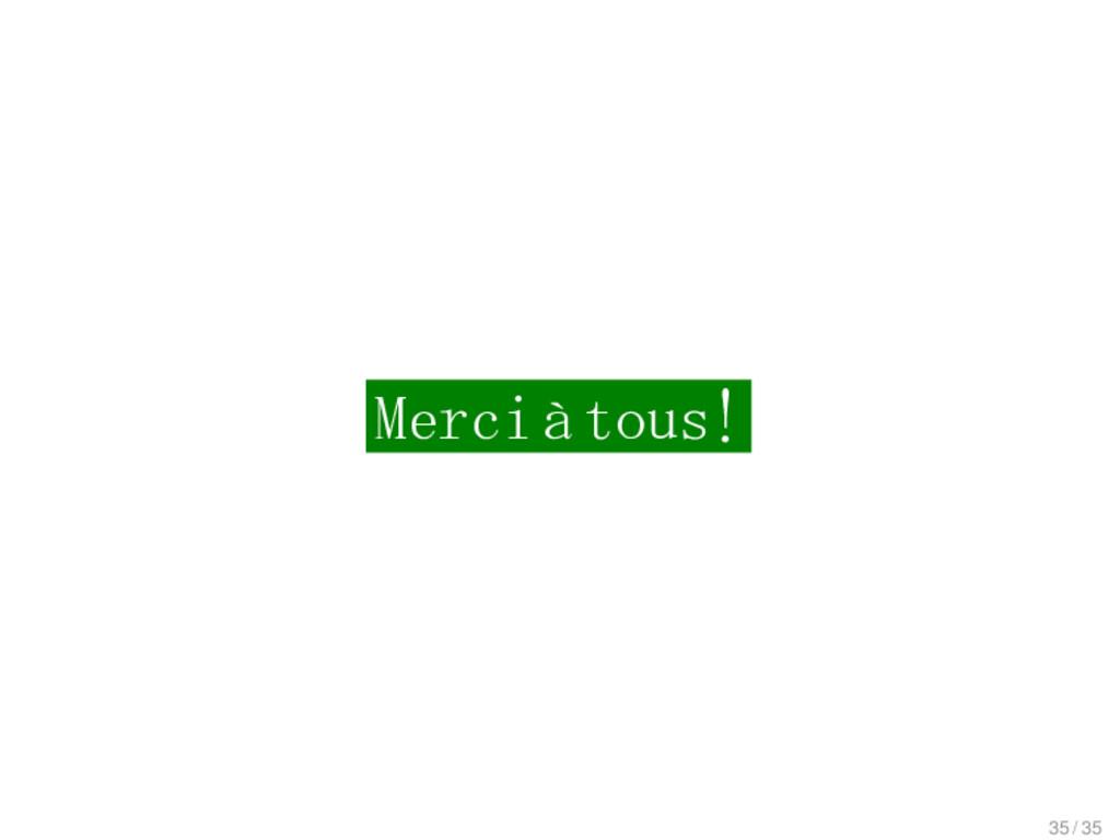 Outlook Merciàtous! 35 / 35