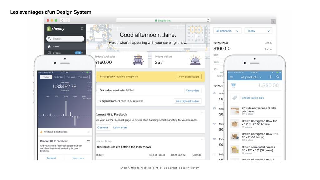 Les avantages d'un Design System Shopify Mobile...