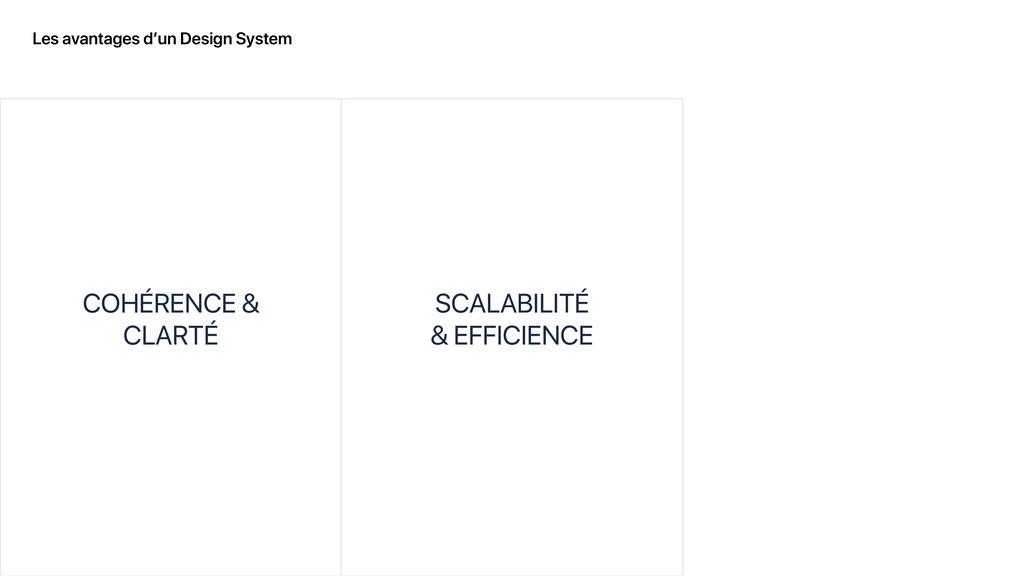 Les avantages d'un Design System COHÉRENCE & CL...