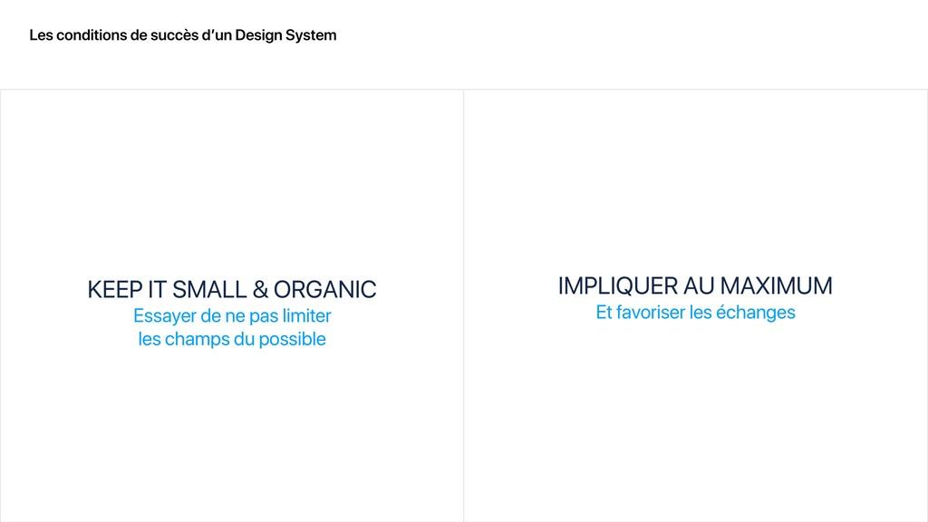Les conditions de succès d'un Design System KEE...