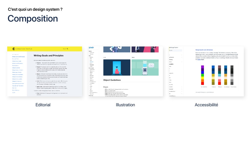 C'est quoi un design system ? Editorial Illustr...