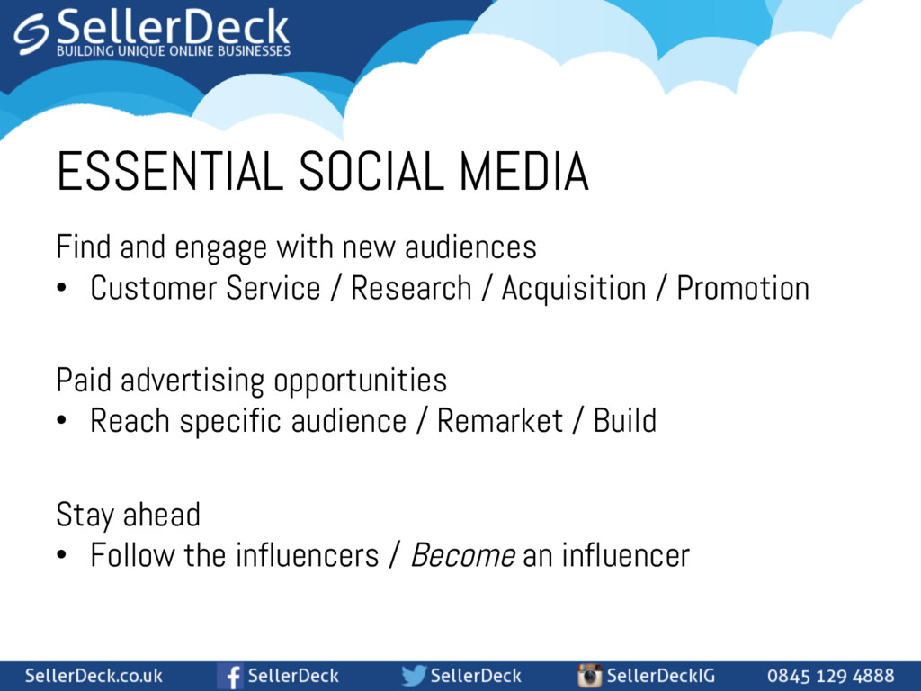 ESSENTIAL SOCIAL MEDIA Find and engage with new...
