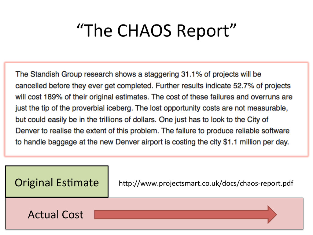 """""""The CHAOS Report""""  33  hWp://www.p..."""