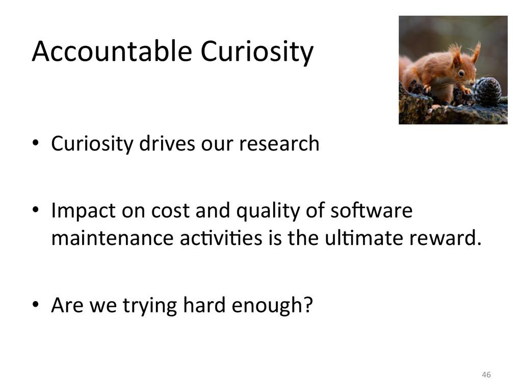 Accountable Curiosity  • Curiosity dr...