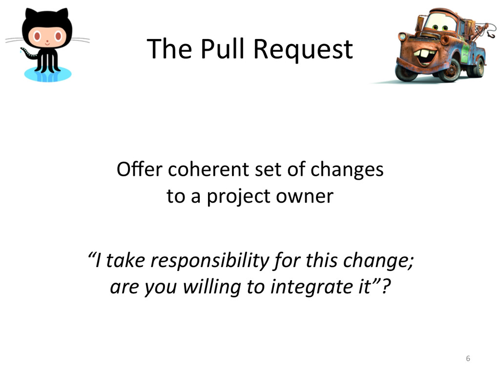 The Pull Request      Offer co...