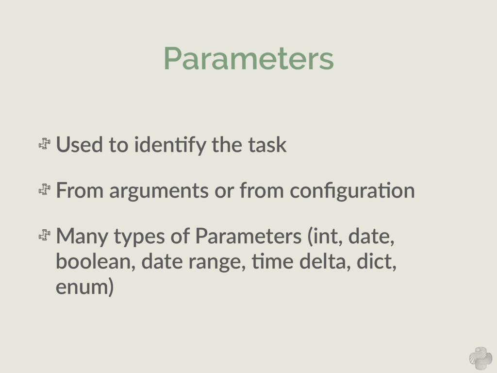 Parameters Used  to  idenNfy  the  task     Fro...
