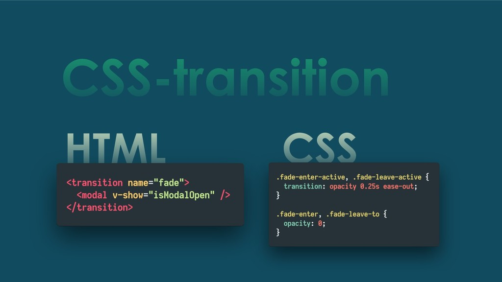HTML CSS CSS-transition