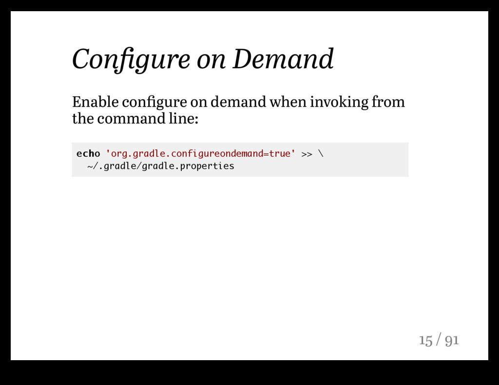 Configure on Demand Enable configure on demand wh...