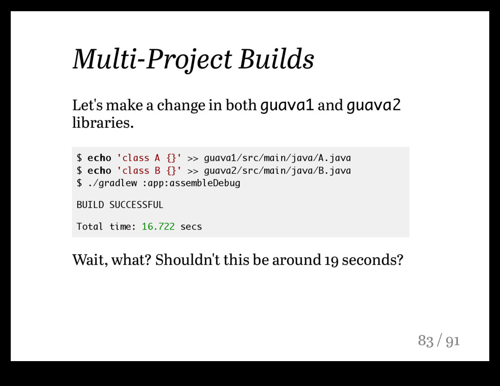 Multi-Project Builds Let's make a change in bot...