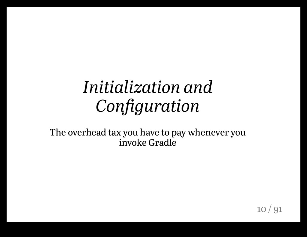 Initialization and Configuration The overhead ta...