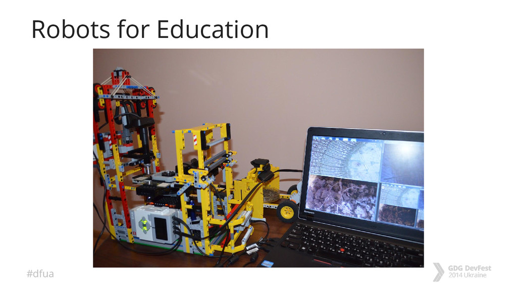 #dfua Robots for Education