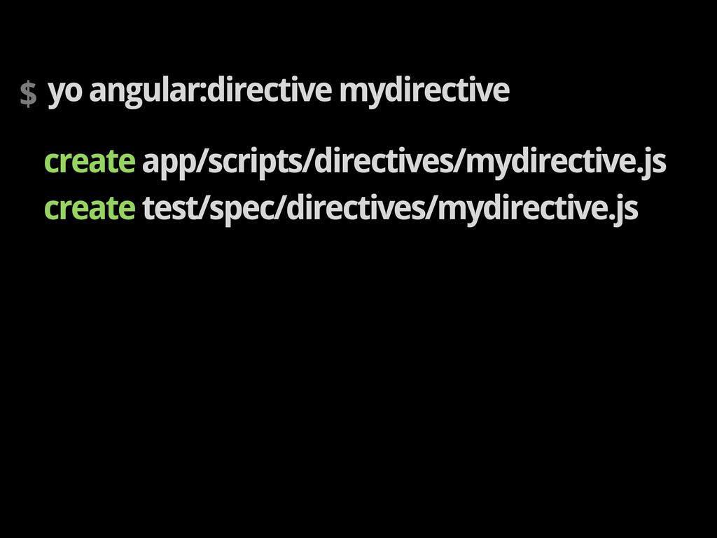 $ yo angular:directive mydirective create app/s...