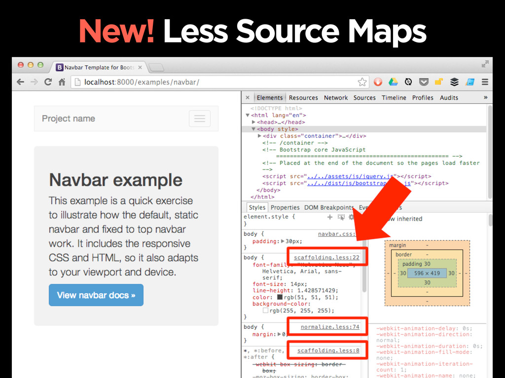 New! Less Source Maps