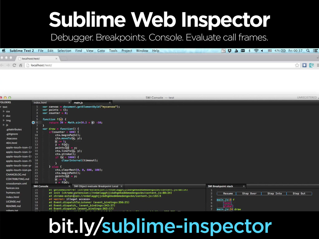 Sublime Web Inspector bit.ly/sublime-inspector ...
