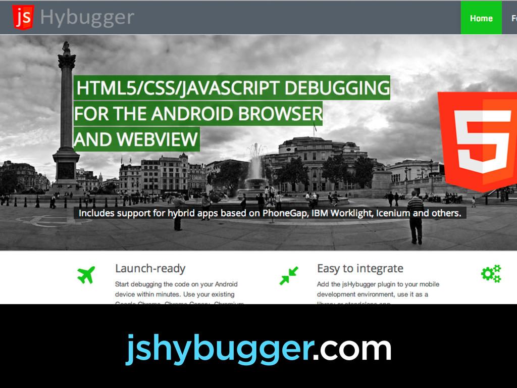 js Hybugger jshybugger.com