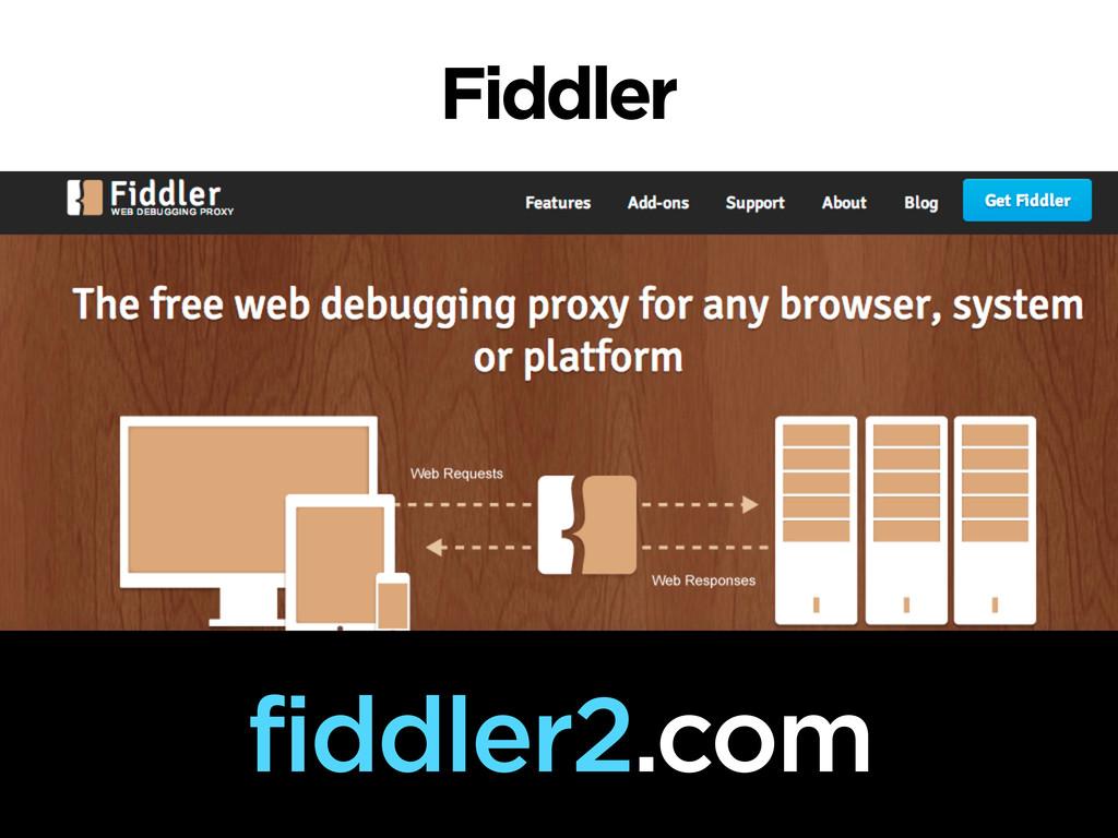 Fiddler fiddler2.com