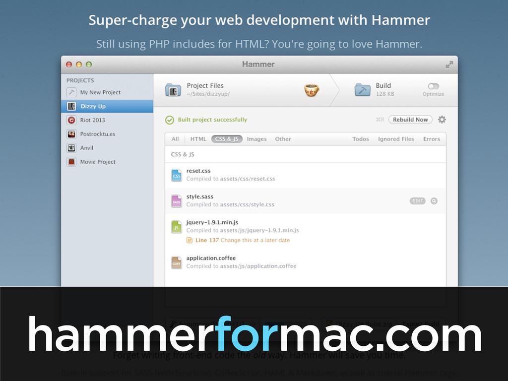 hammerformac.com