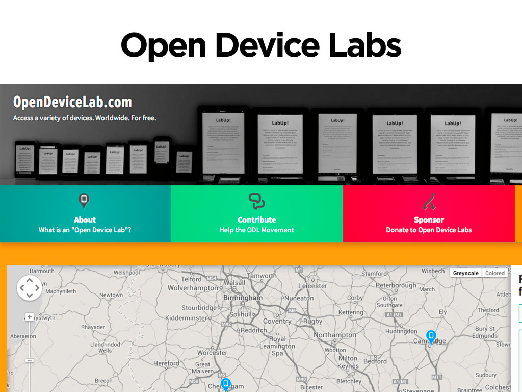 Open Device Labs