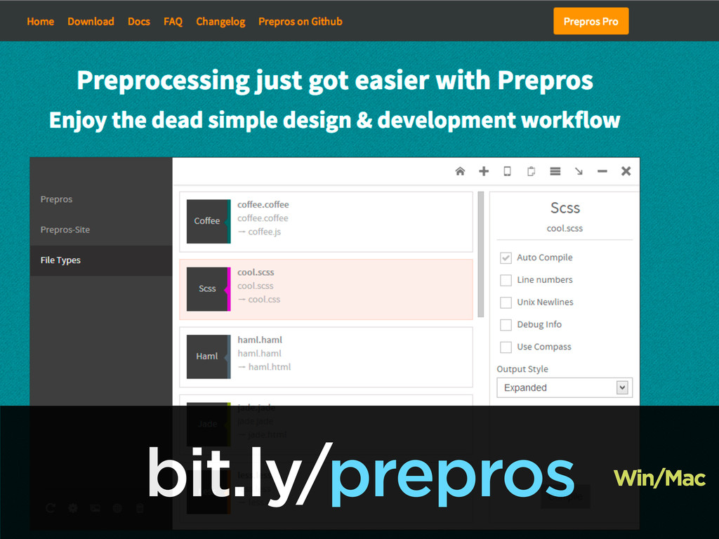 bit.ly/prepros Win/Mac