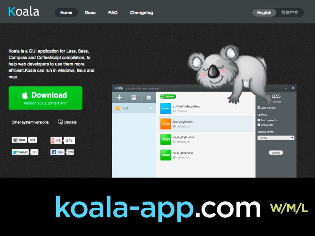 koala-app.com W/M/L