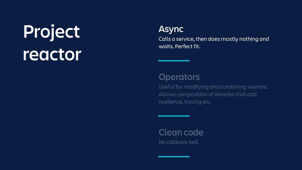 Operators Useful for modifying and combining so...