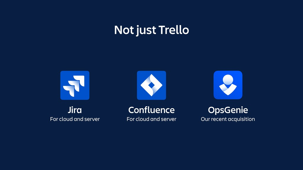 Jira For cloud and server Confluence For cloud ...