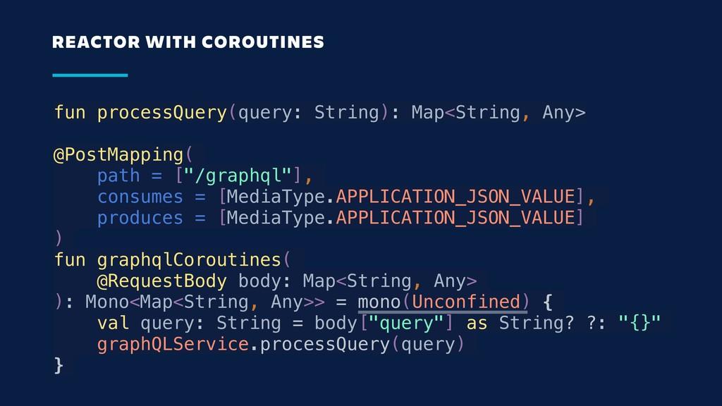 fun processQuery(query: String): Map<String, An...