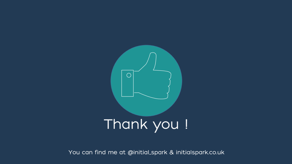 Thank you ! You can find me at @initial_spark &...
