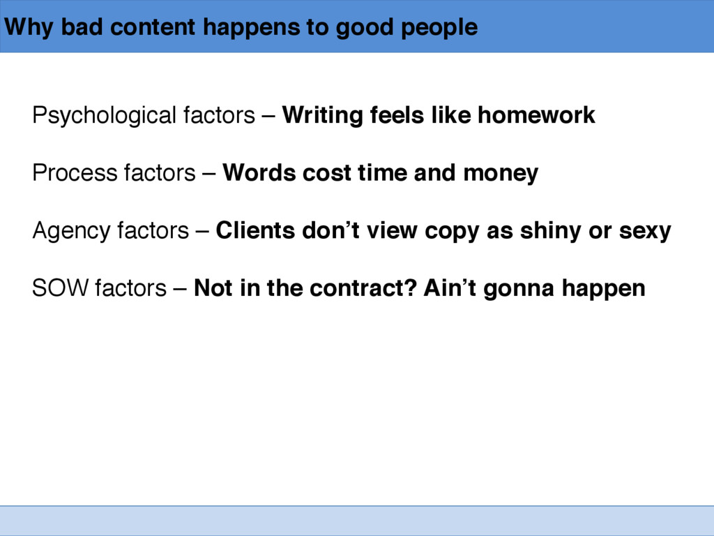 Why bad content happens to good people Psycholo...