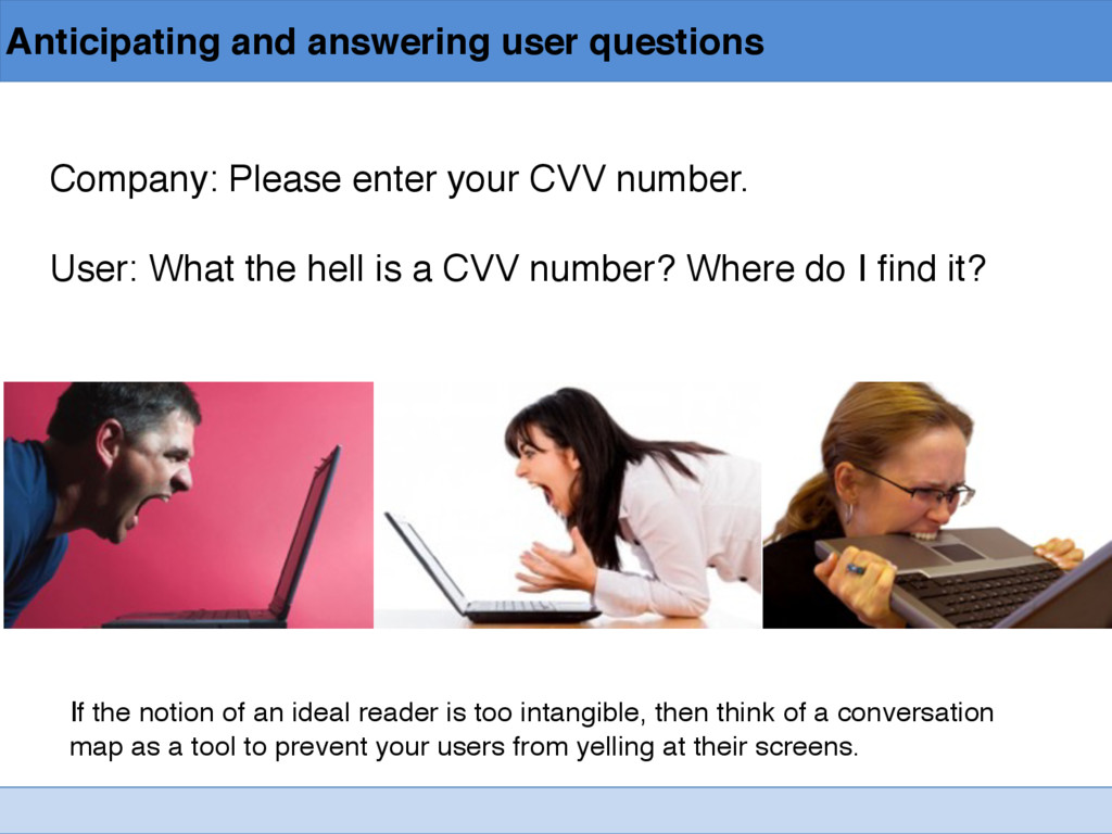 Anticipating and answering user questions Compa...