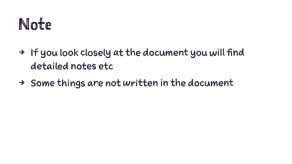 Note 4 If you look closely at the document you ...