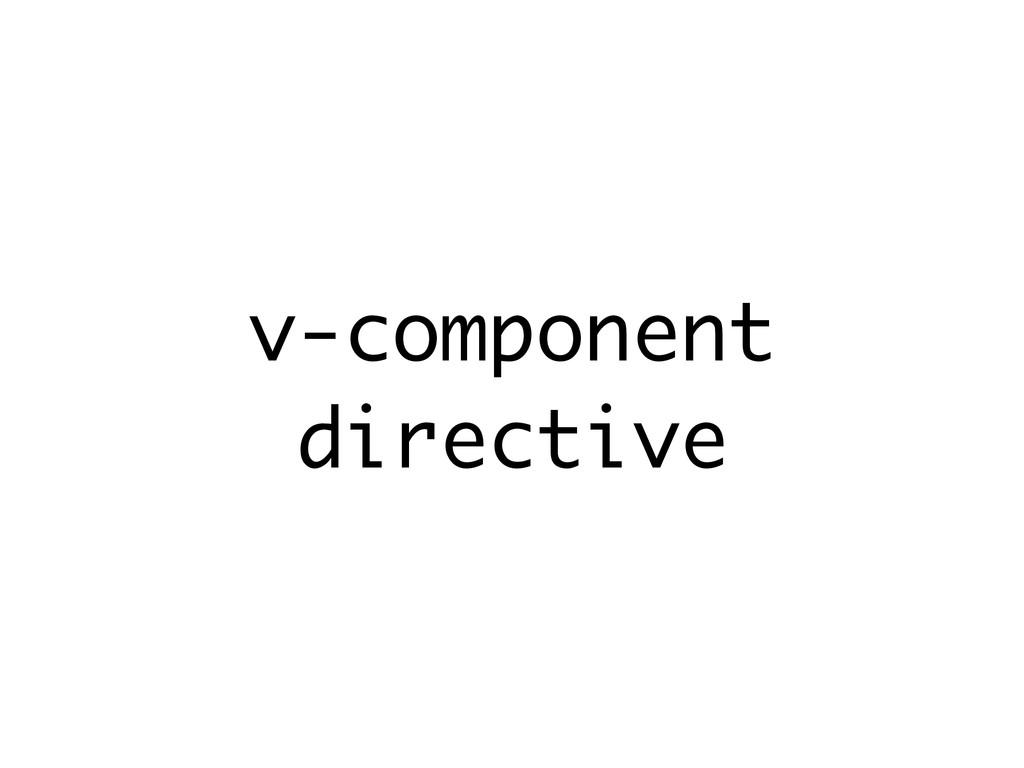 v-component directive