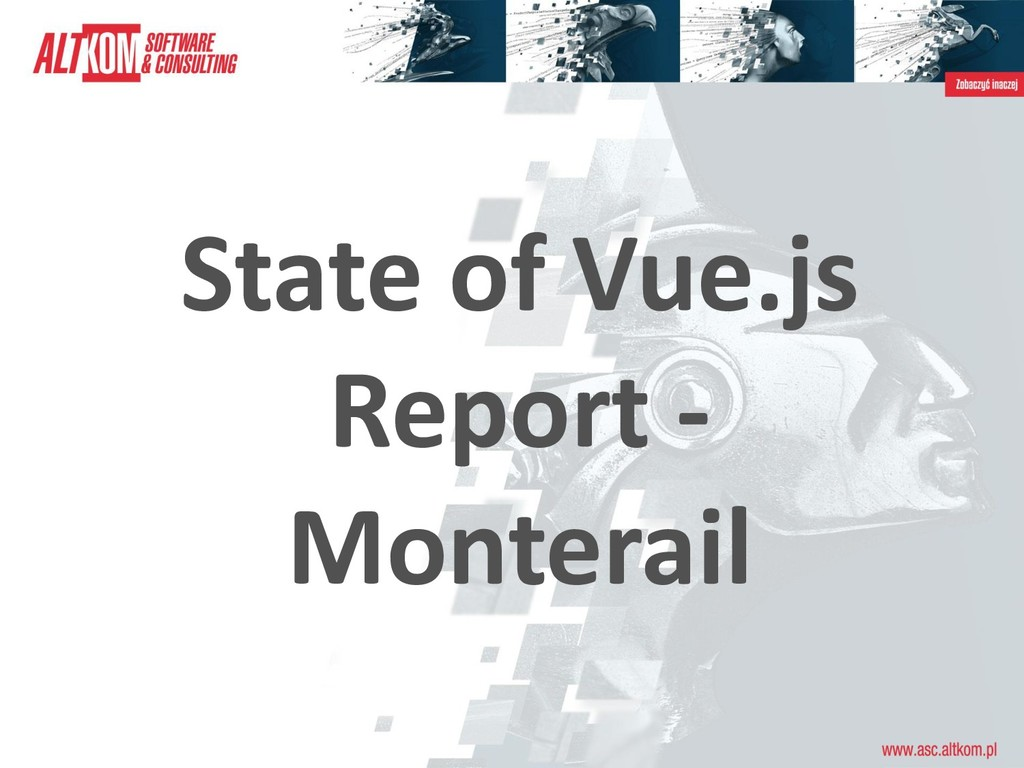 State of Vue.js Report - Monterail