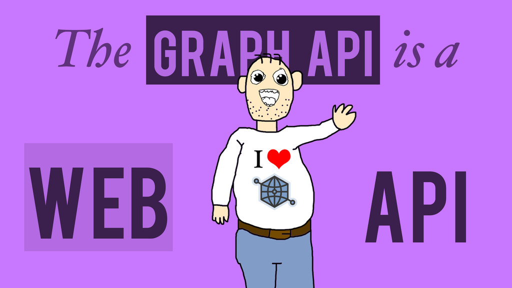 API Graph API The is a Web