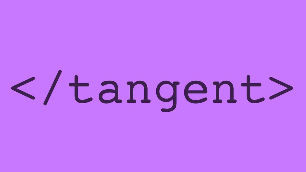 </tangent>