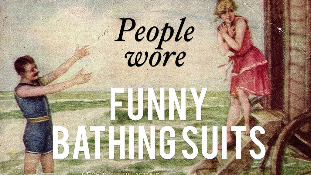 People wore Funny Bathing suits