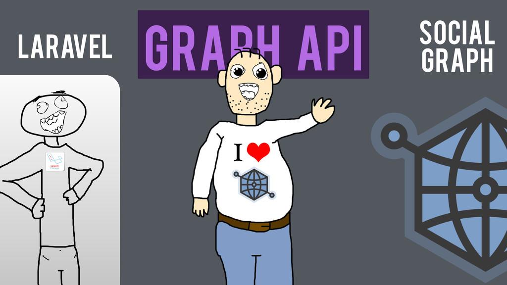 Laravel Graph API Social Graph