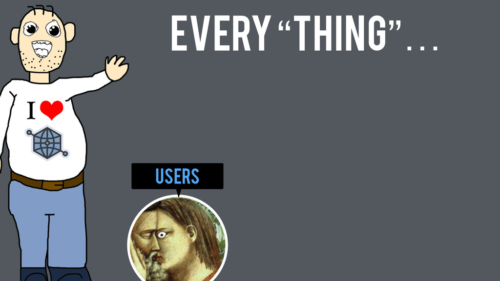 "Users Every ""Thing""…"