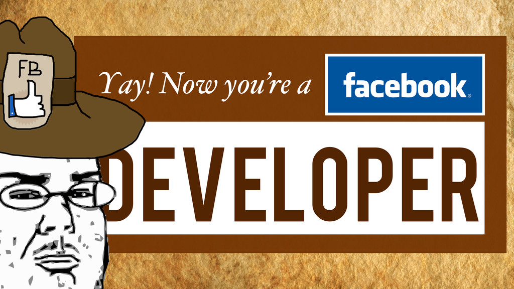 Yay! Now you're a Developer