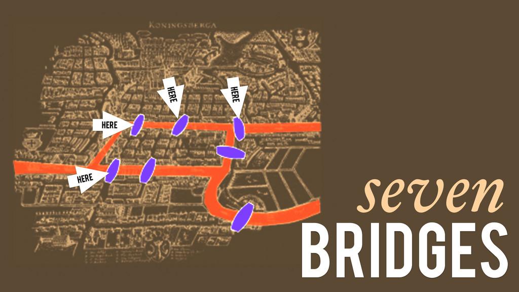 seven bridges Here Here Here Here