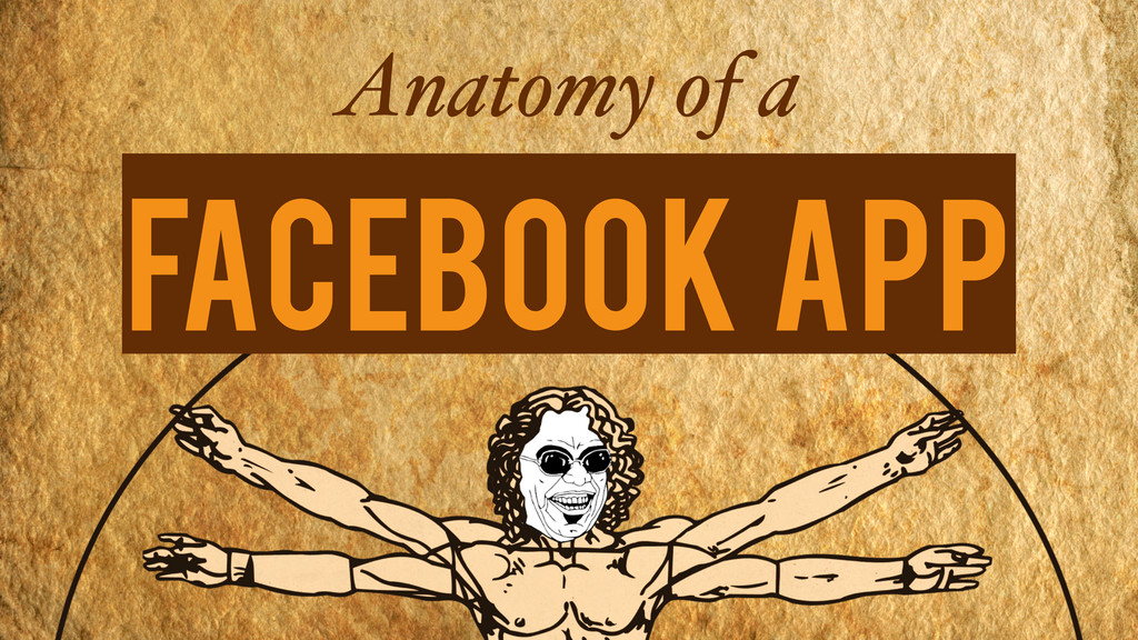 Anatomy of a Facebook App