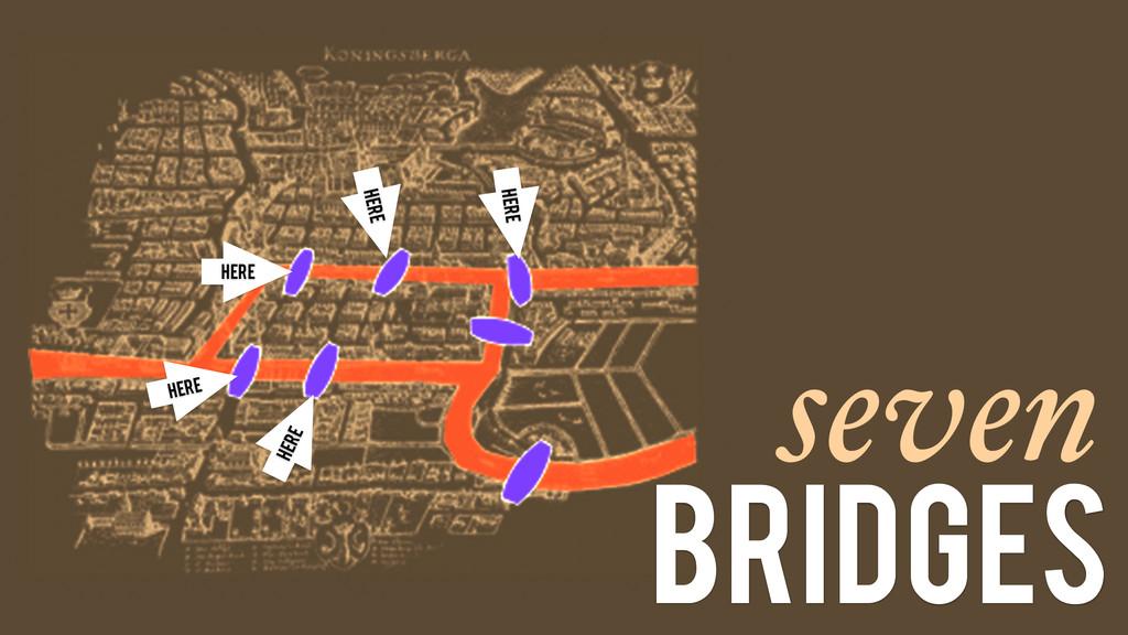 seven bridges Here Here Here Here Here