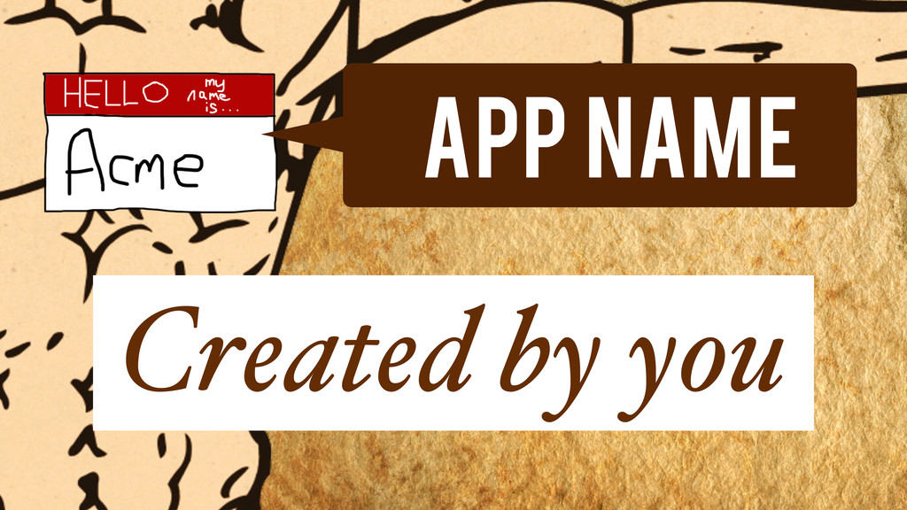 App Name Created by you