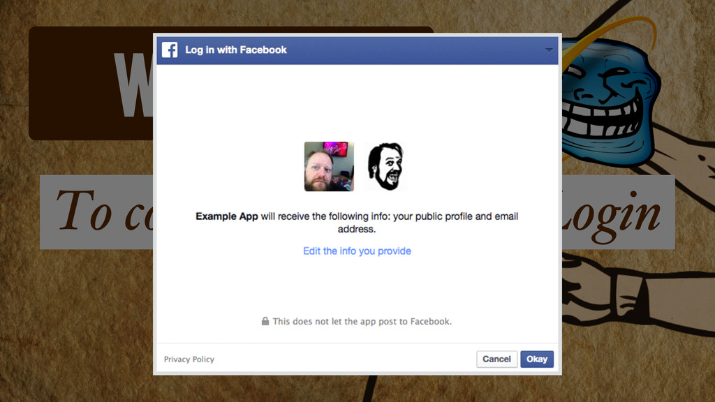 Website To configure Facebook Login Log in with...