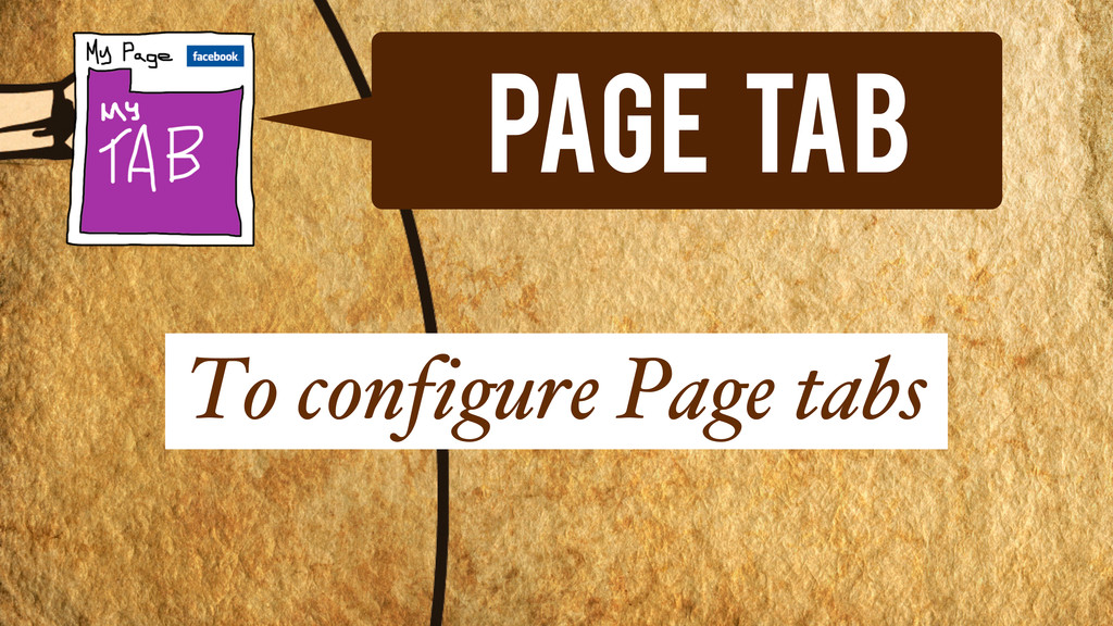 Page Tab To configure Page tabs