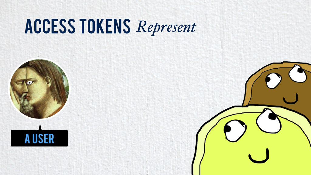 Access Tokens Represent A User