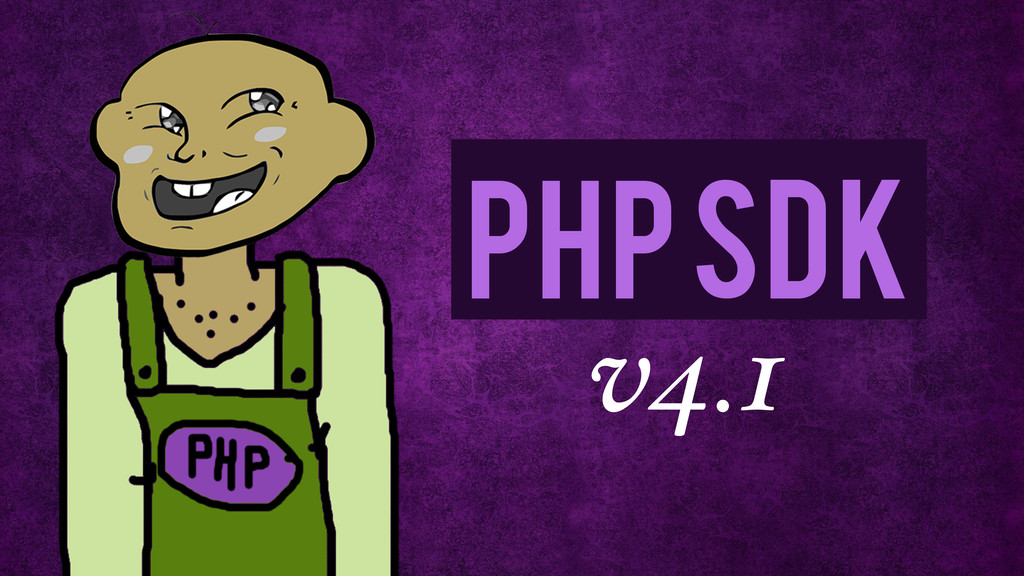 v4.1 php SDK