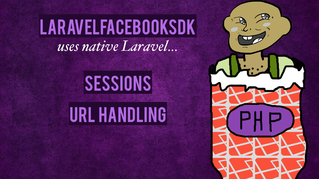 Sessions URL Handling uses native Laravel… Lara...